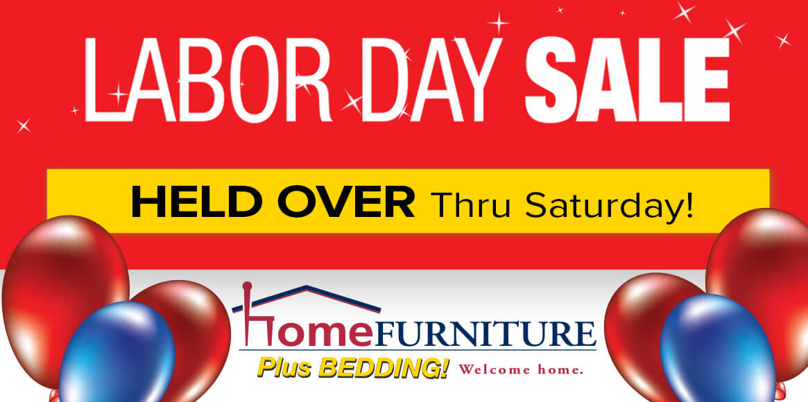 Labor Day Sale Held Over Advertisement