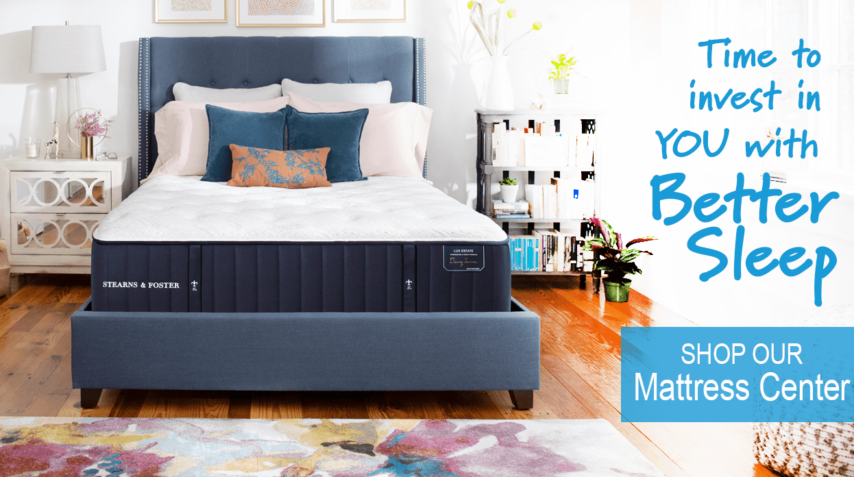 Shop our Mattress Center