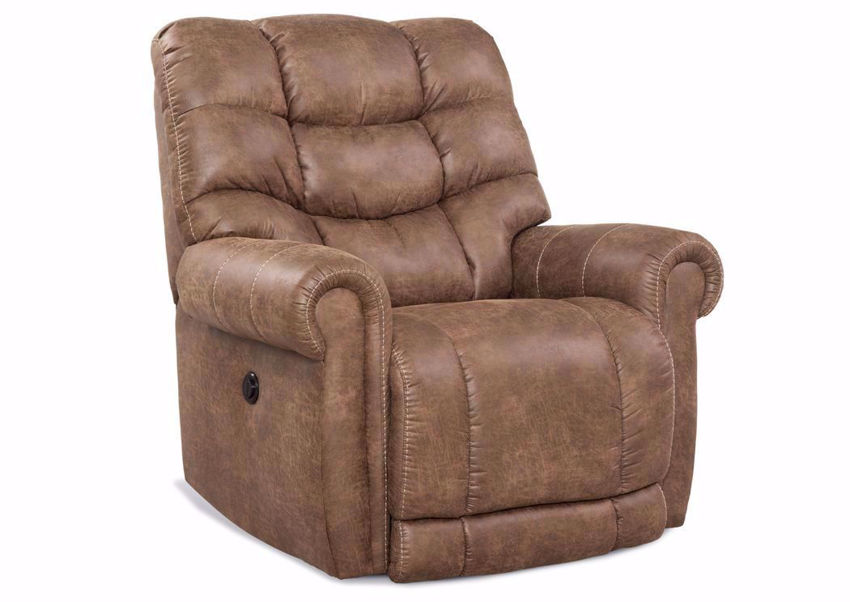 Big Man POWER Recliner with Tan Upholstery | Home Furniture Plus Bedding
