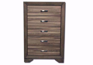 Asheville Chest of Drawers, Brown, Front Facing  | Home Furniture Plus Bedding