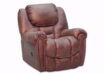 Mocha Brown Santa Monica Power Recliner by Homestretch at an Angle | Home Furniture Plus Mattress