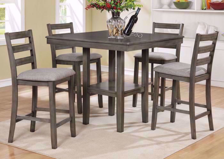 Tahoe 5 Piece Counter Height Dining