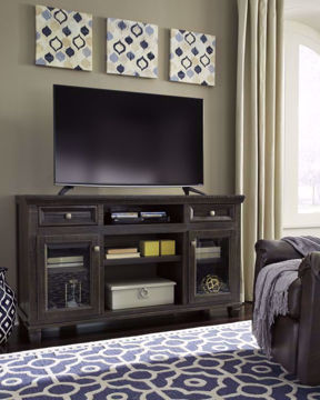 Townser TV Stand by Ashley in Room Setting | Home Furniture Plus Bedding
