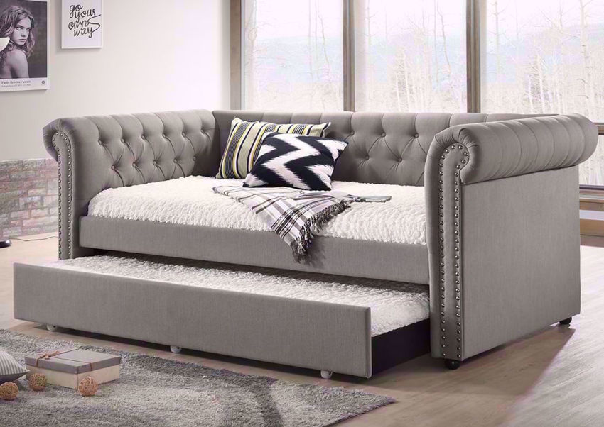 Ellie Daybed Gray Home Furniture