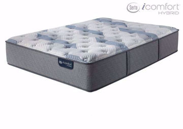 Twin Size Serta iComfort Hybrid Blue Fusion 100 Firm Mattress | Home Furniture Plus Mattress Store