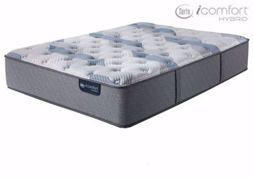 Twin Size Serta iComfort Hybrid Blue Fusion 200 Plush Mattress | Home Furniture Plus Mattress Store