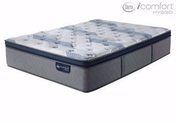 Twin Size Serta iComfort Hybrid Blue Fusion 300 Pillow Top Plush Mattress | Home Furniture Plus Mattress Store