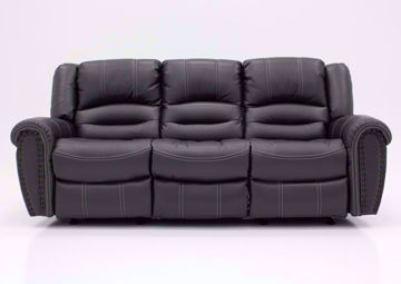Gray Torino Reclining Sofa, Front Facing | Home Furniture Plus Mattress