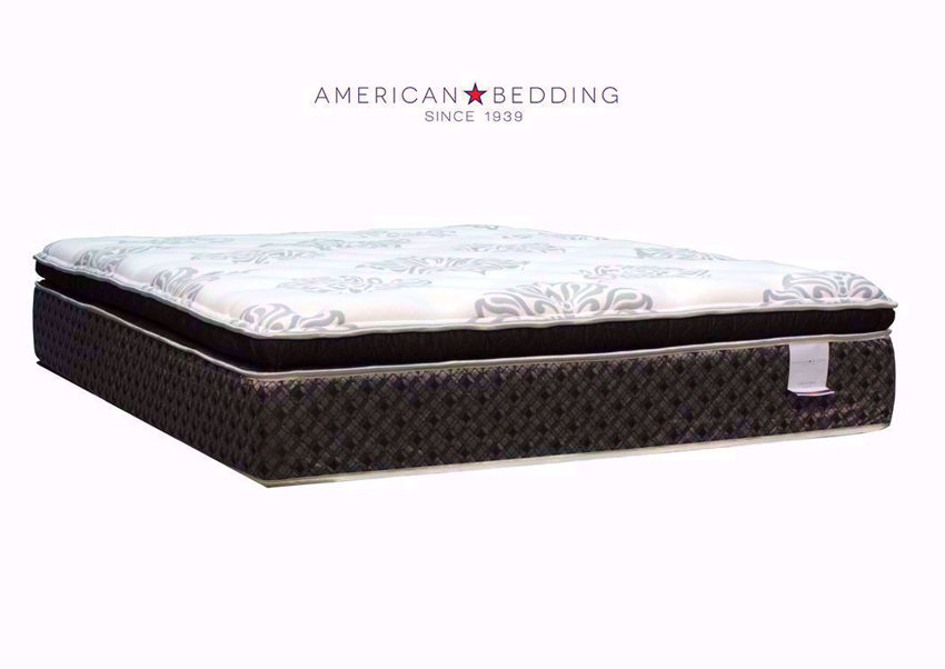 Twin Size Centennial Pillow Top Mattress Top View from Side Angle | Home Furniture Plus Bedding