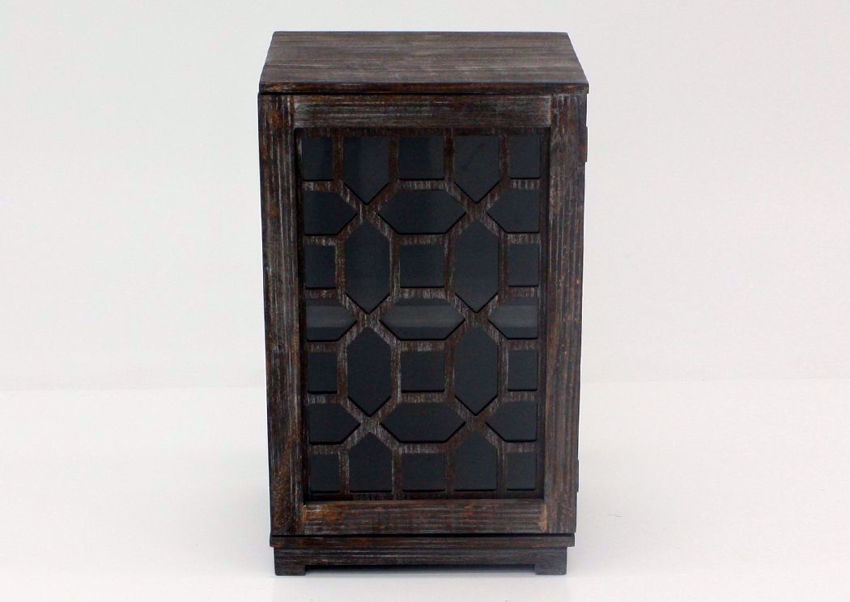 Chisum Accent Cabinet, Barnwood, Front Facing | Home Furniture Plus Bedding