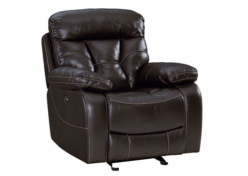 Picture of Peoria Rocker Recliner - Java Brown