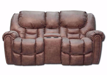 Mocha Brown Santa Monica Power Reclining Loveseat by Homestretch at an Angle | Home Furniture Plus Mattress