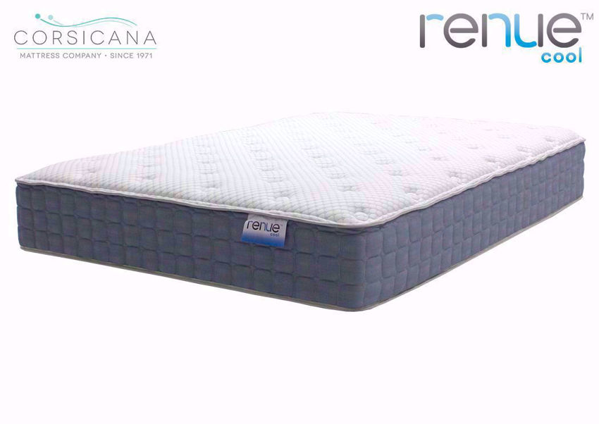Slightly Angled View of the King Size Corsicana Renue Cool Firm Mattress | Home Furniture Plus Bedding