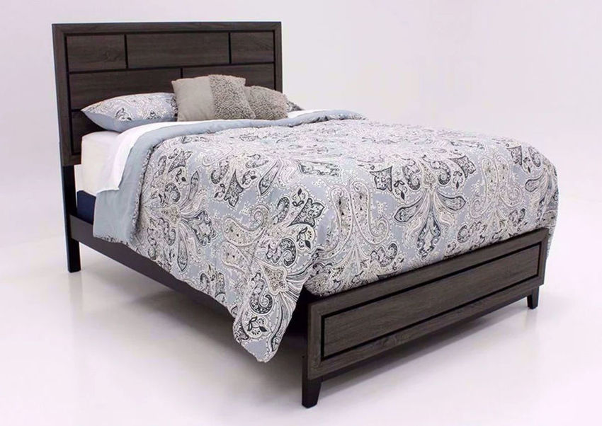 Ackerson Queen Bed - Gray | Home Furniture Plus Bedding