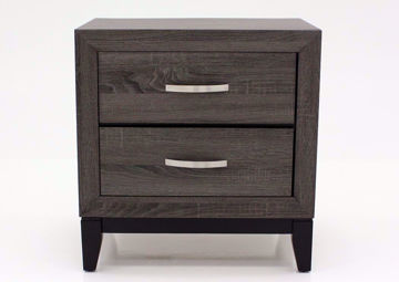 Ackerson Nightstand, Gray, Front Facing | Home Furniture Plus Mattress