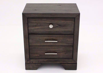 Jaymes Nightstand, Brown Front Facing | Home Furniture Plus Bedding