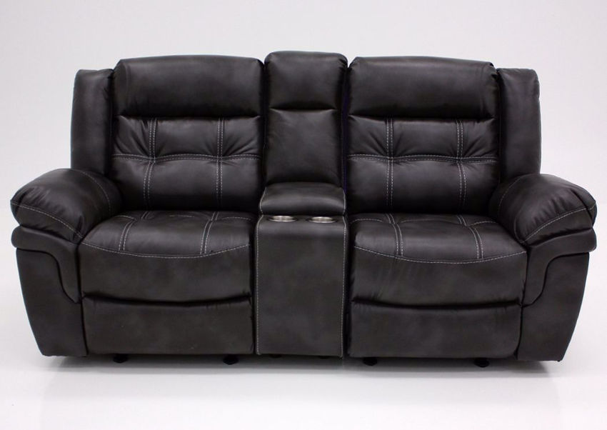 Picture of Detroit Reclining Loveseat – Gray