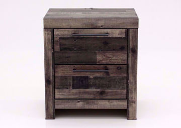 Picture of Derekson Nightstand – Gray Brown