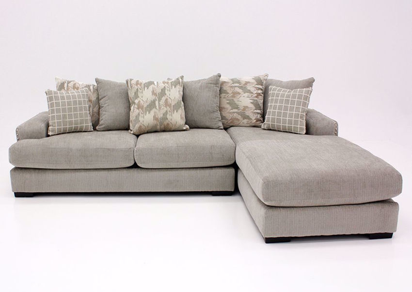 Picture of Alliance Sectional Sofa - Pewter
