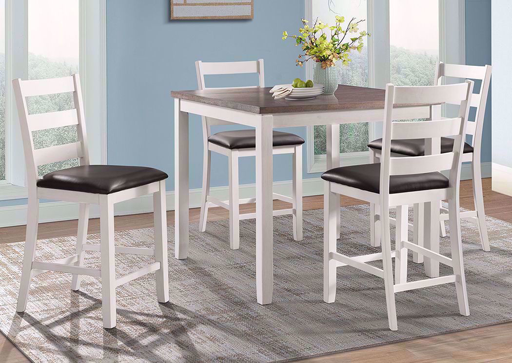Martin Bar Height Dining Table Set, Bar Height Dining Room Table