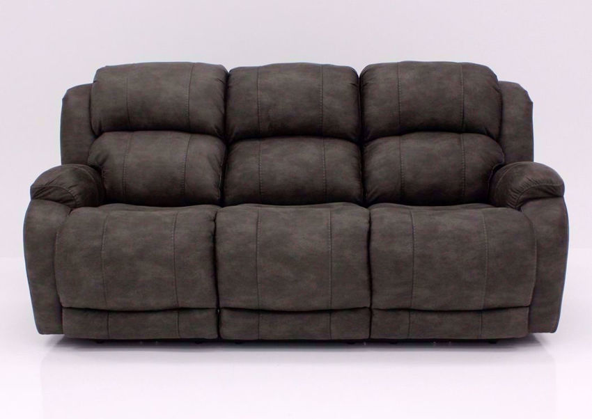 Front Facing View of the Denali Power Reclining Sofa by HomeStretch | Home Furniture Plus Bedding