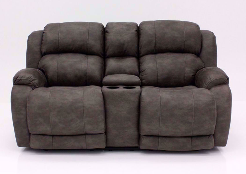 Front Facing View of the Denali Power Reclining Loveseat by HomeStretch | Home Furniture Plus Bedding