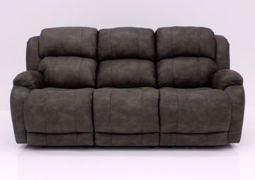 Front Facing View of the Denali Reclining Sofa by HomeStretch | Home Furniture + Mattress