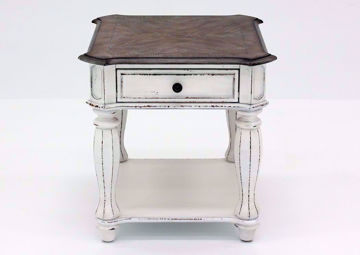 Picture of Magnolia Manor End Table – White