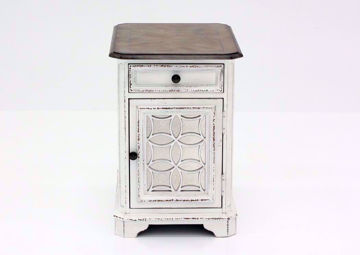 Picture of Magnolia Manor Chairside End Table – White