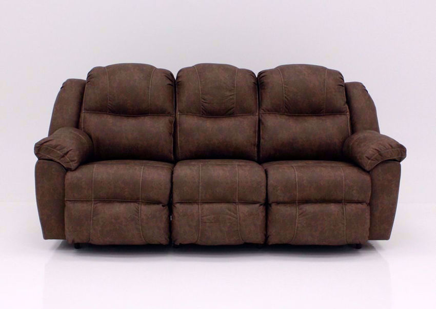 Brown Victory Reclining Sofa, Front Facing | Home Furniture Plus Mattress