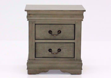 Picture of Louis Philippe Nightstand - Gray