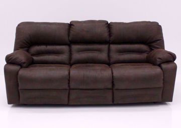 Brown Legacy Reclining Sofa, Front Facing | Home Furniture Plus Mattress