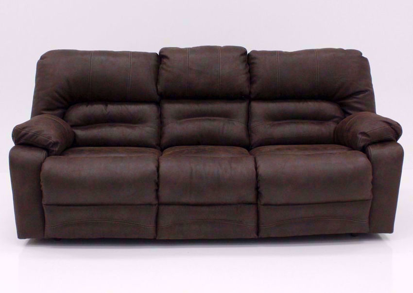 Brown Legacy Reclining Sofa, Front Facing | Home Furniture Plus Bedding