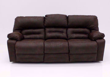 Legacy POWER Reclining Sofa, Brown, Front Facing | Home Furniture Plus Mattress