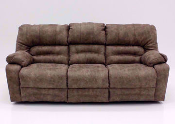 Legacy Reclining Sofa, Tan, Front Facing | Home Furniture Plus Mattress