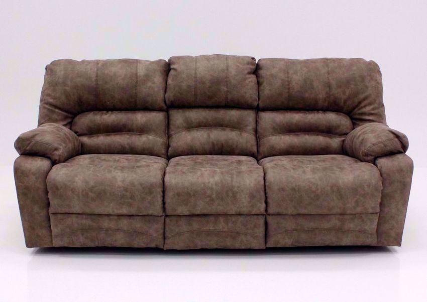Tan Legacy Reclining Sofa, Front Facing | Home Furniture Plus Bedding