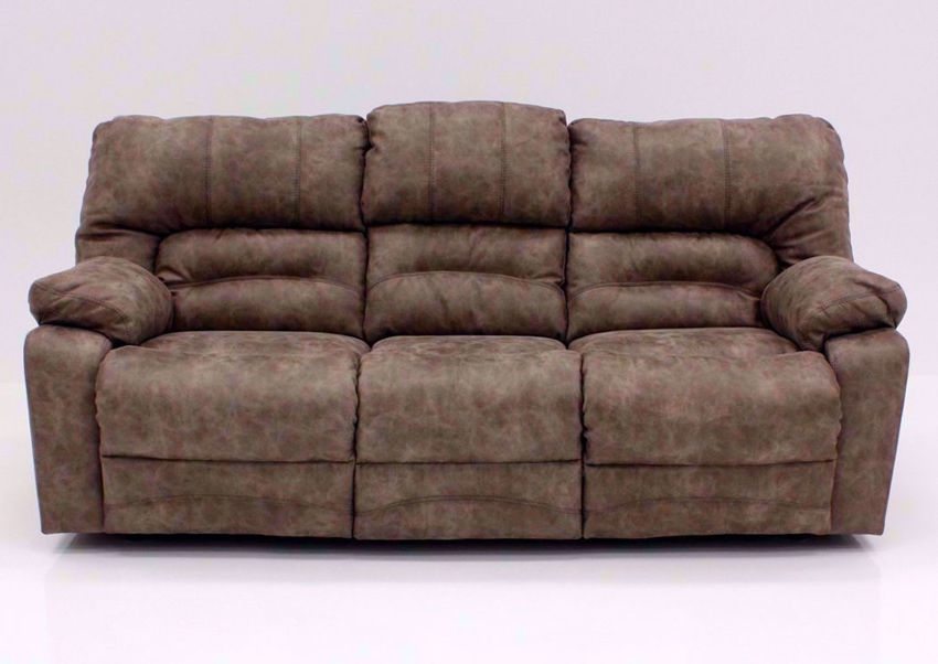 Tan Legacy POWER Reclining Sofa, Front Facing | Home Furniture Plus Bedding