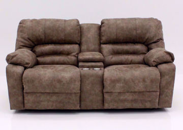 Tan Legacy Reclining Loveseat, Front Facing | Home Furniture Plus Mattress