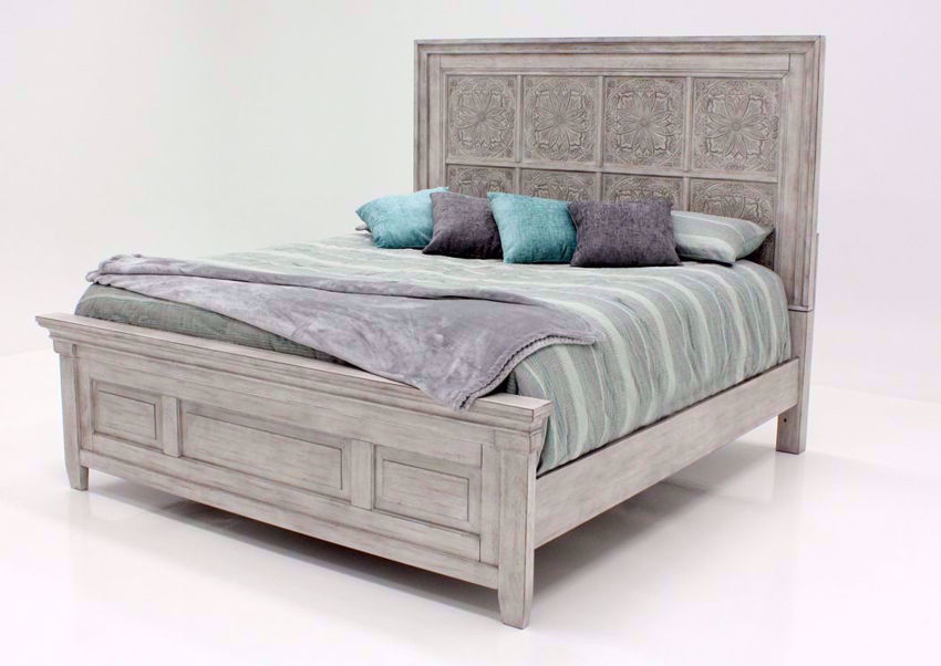 Heartland King Size Panel Bed White