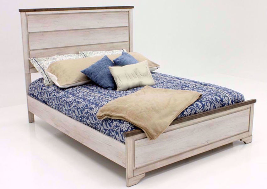 Picture of Patterson King Size Bed - Gray