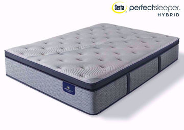 Serta Perfect Sleeper Hybrid Standale II Pillow Top Plush Mattress, Twin | Home Furniture Plus Mattress Store
