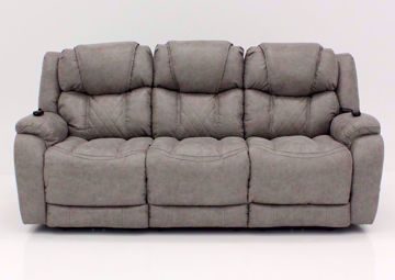 Soft Brown Daytona POWER Reclining Sofa, Front Facing | Home Furniture Plus Bedding