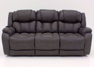 Steel Gray Daytona POWER Reclining Sofa, Front Facing | Home Furniture Plus Bedding