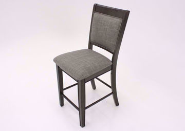 "Fulton 24"" Barstool, Gray, Angle 