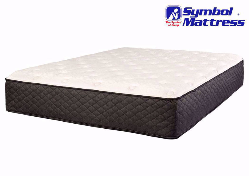 Symbol Harper Plush Mattress, Twin, Angle | Home Furniture Plus Mattress Store