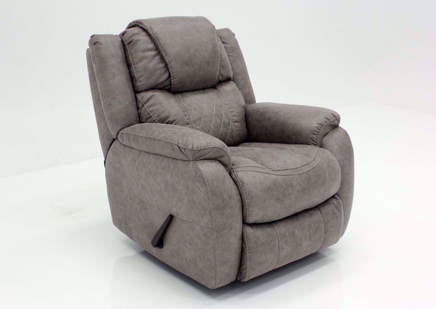 Soft Brown Daytona Recliner at an Angle | Home Furniture Plus Bedding
