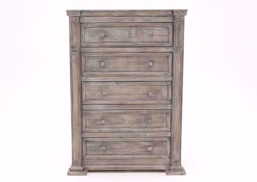 Weathered Gray Maverick Chest of Drawers Facing Front | Home Furniture Plus Bedding
