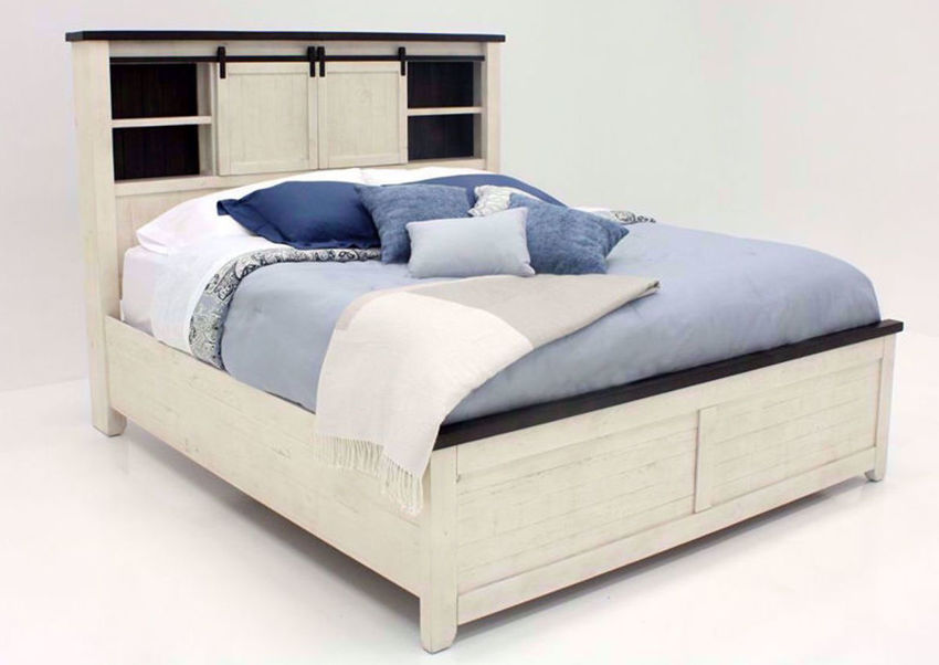 Picture of Madison County King Bed - White