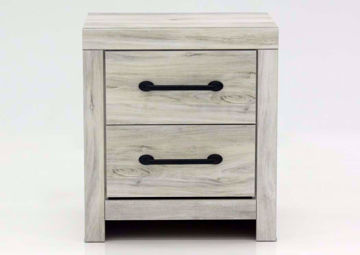 Rustic White Cambeck Nightstand by Ashley Furniture, Front Facing | Home Furniture Plus Mattress