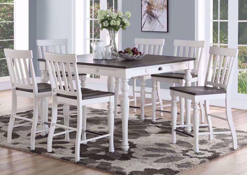 Counter Height Dining Room Table And Chairs